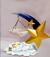 Moon & Stars Tea Light Tart Burner